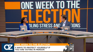 Dr Oz Election Stress Disorder